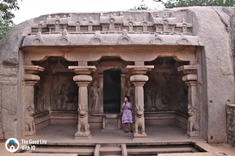 Varaha cave, Mahabalipuram - 3 day trip to Pondicherry