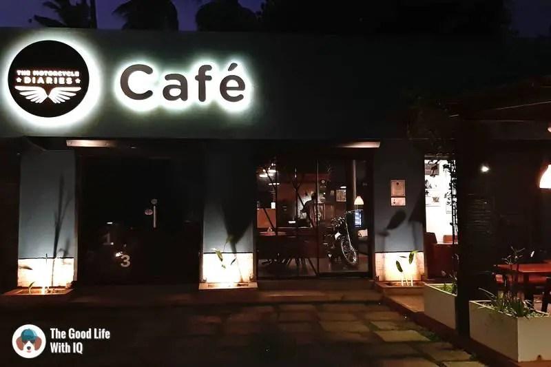 Motorcycle diaries cafe, Pondicherry