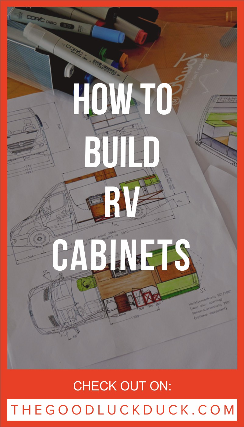 How to build rv cabinets