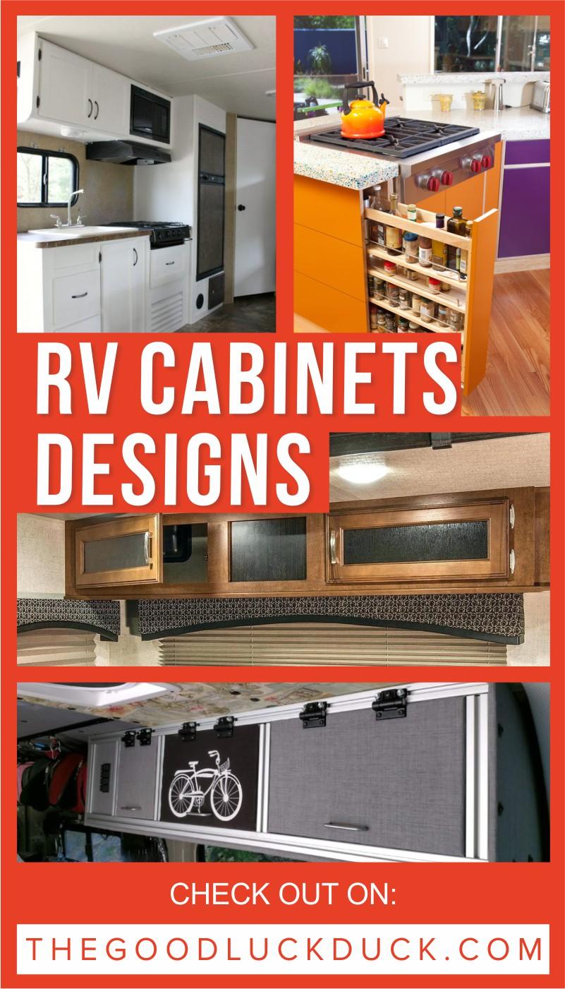 RV CABINETS DESIGNS