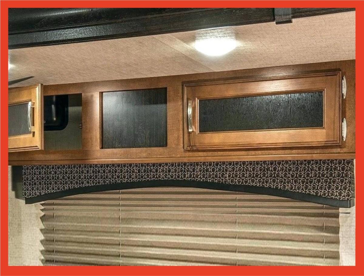 RV overhead cabinets