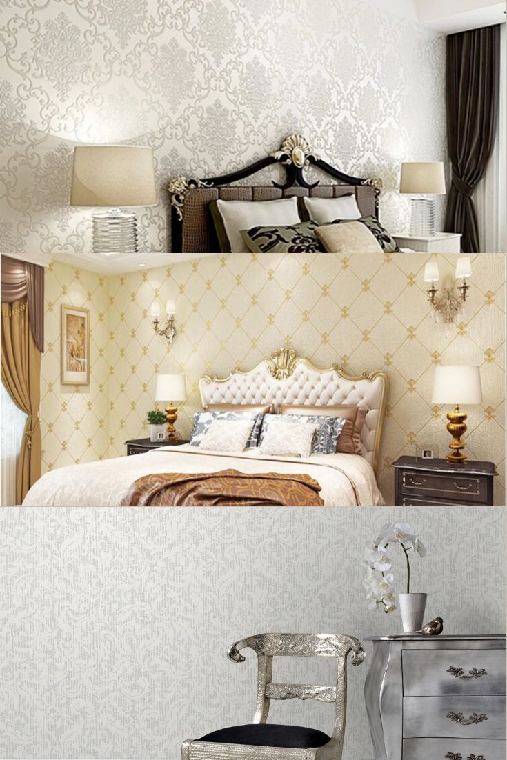 silver wall paint for bedroom