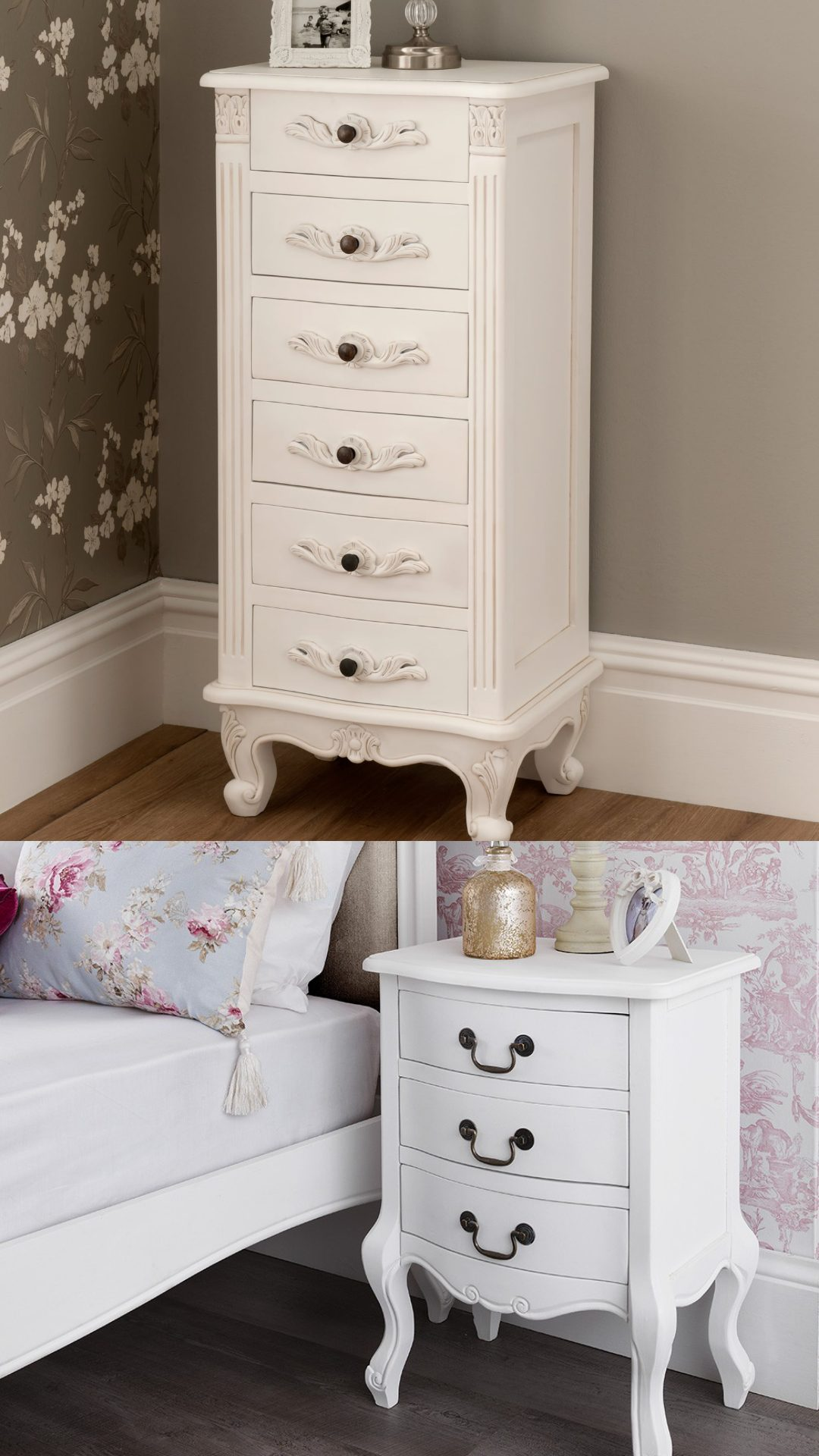 antique white furniture for womens bedroom