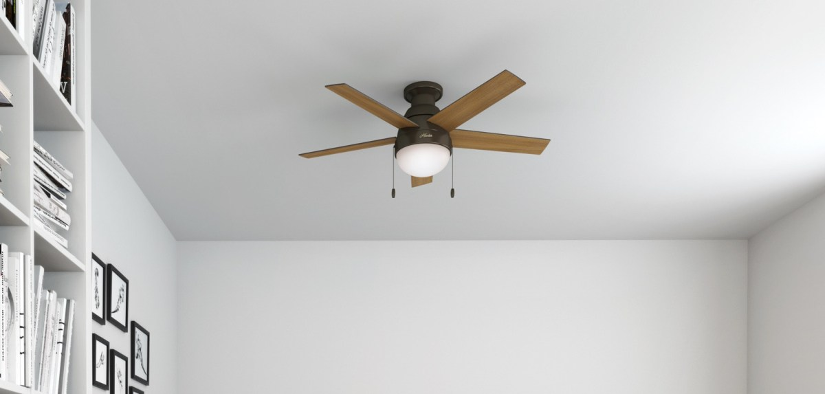 Consider the height of your ceiling