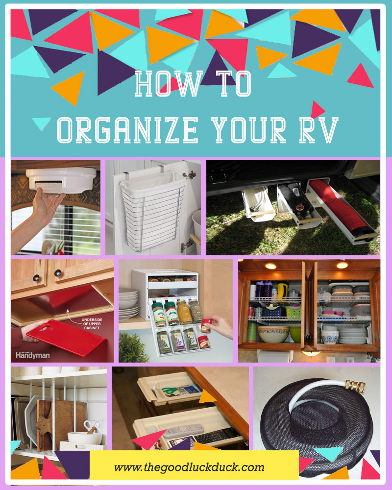 rv organization accessories