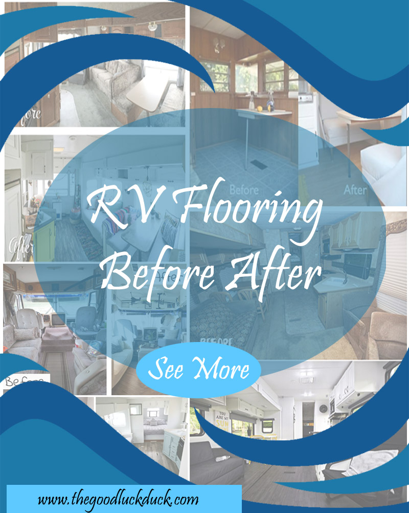 replacing flooring in rv with slide
