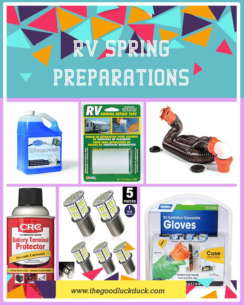 camper spring checklist