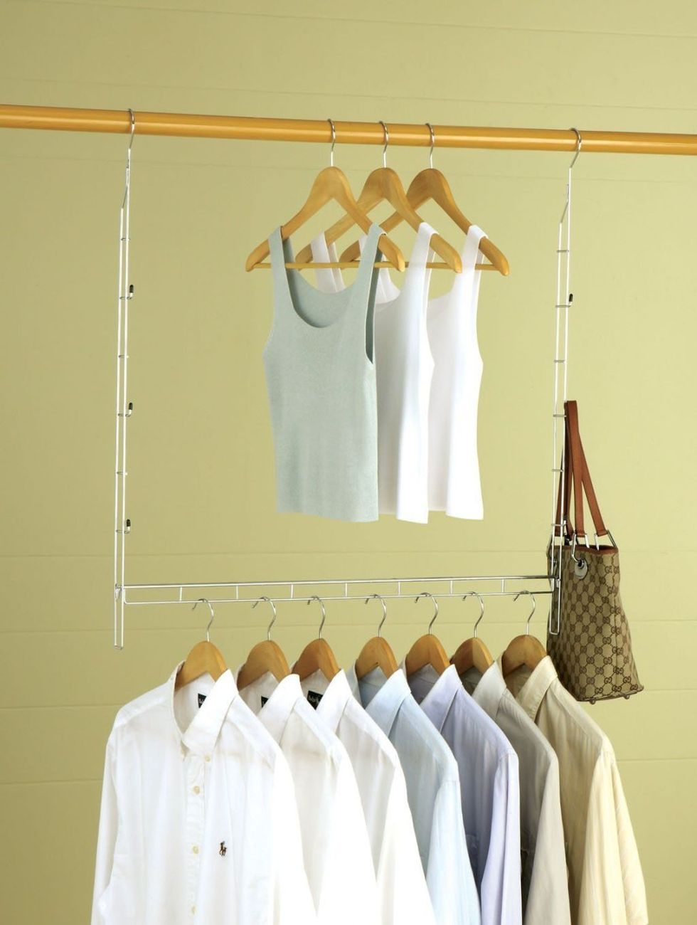 Use A Hanging Organizer