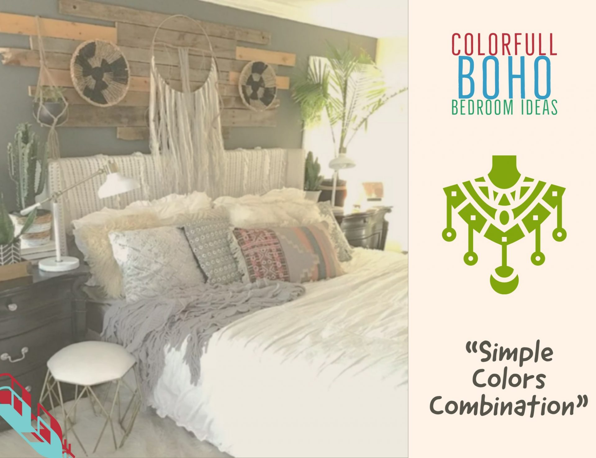 Image of: Boho Bedroom Ideas How To Decor Best Color For Bohemian Style