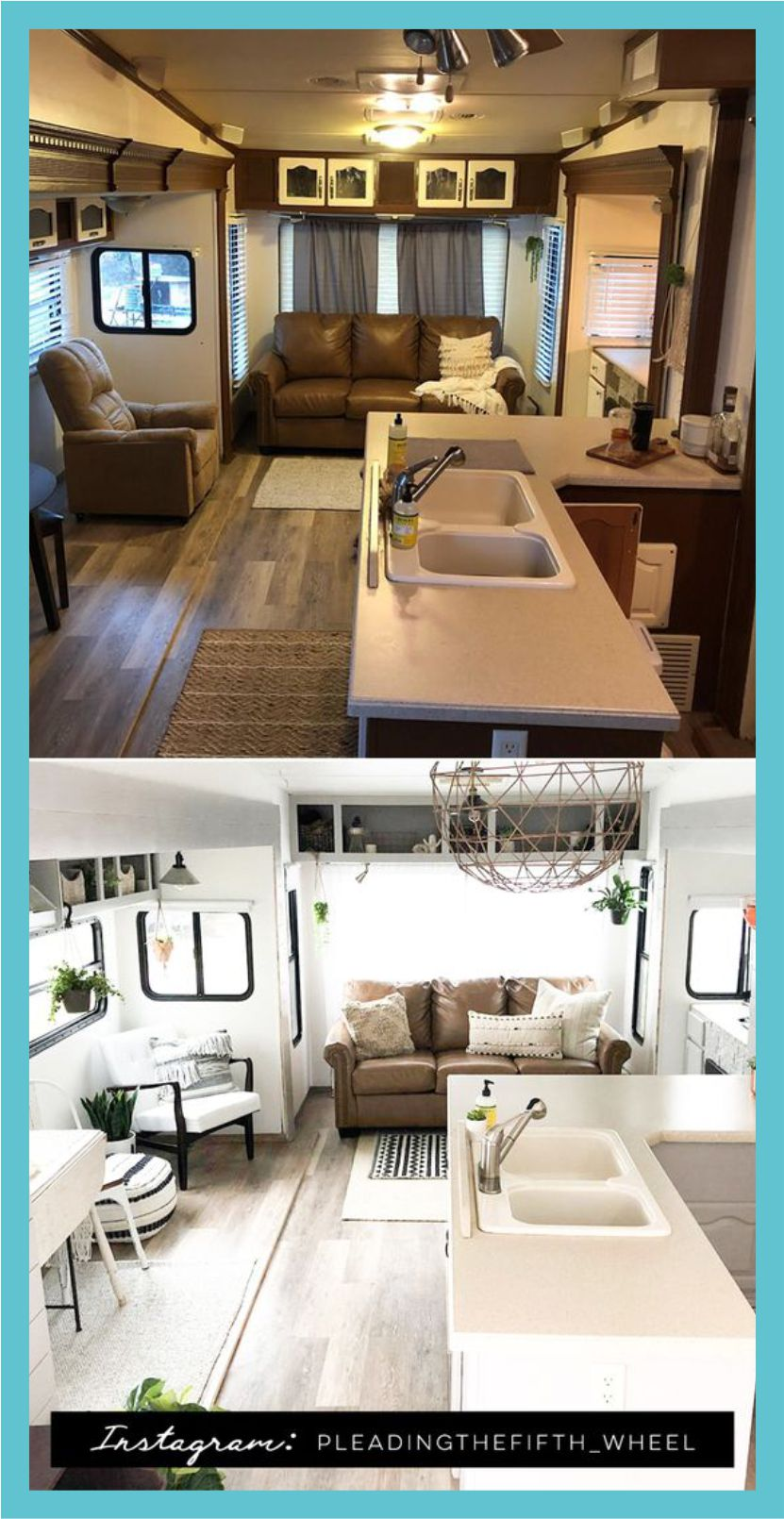 how to remodel old fifth wheel