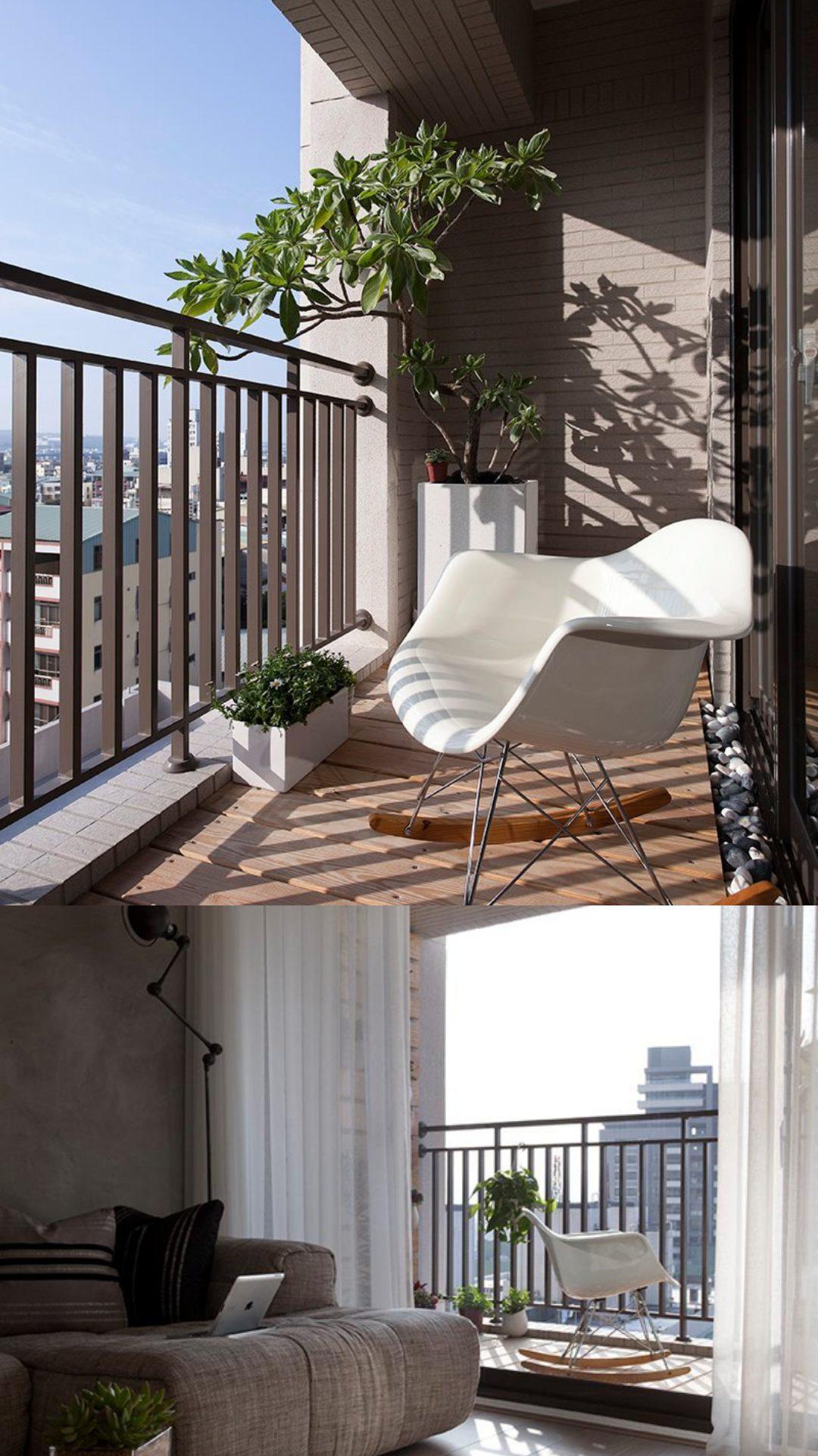 homesfeed simple balcony decorating ideas