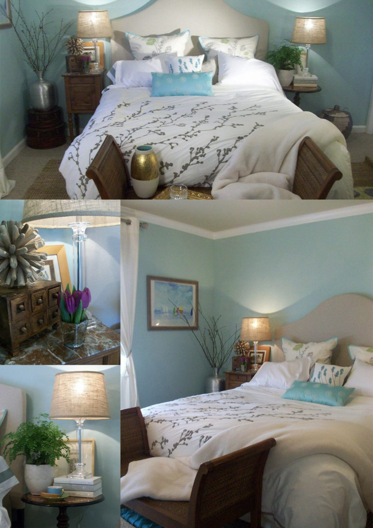 Coastal Bedroom Bench