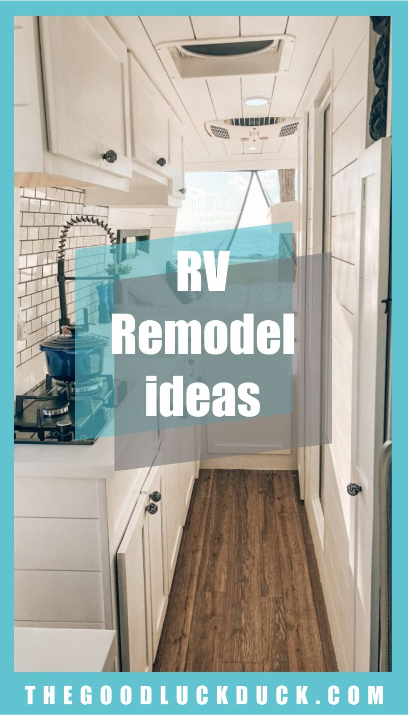 diy travel trailer remodel