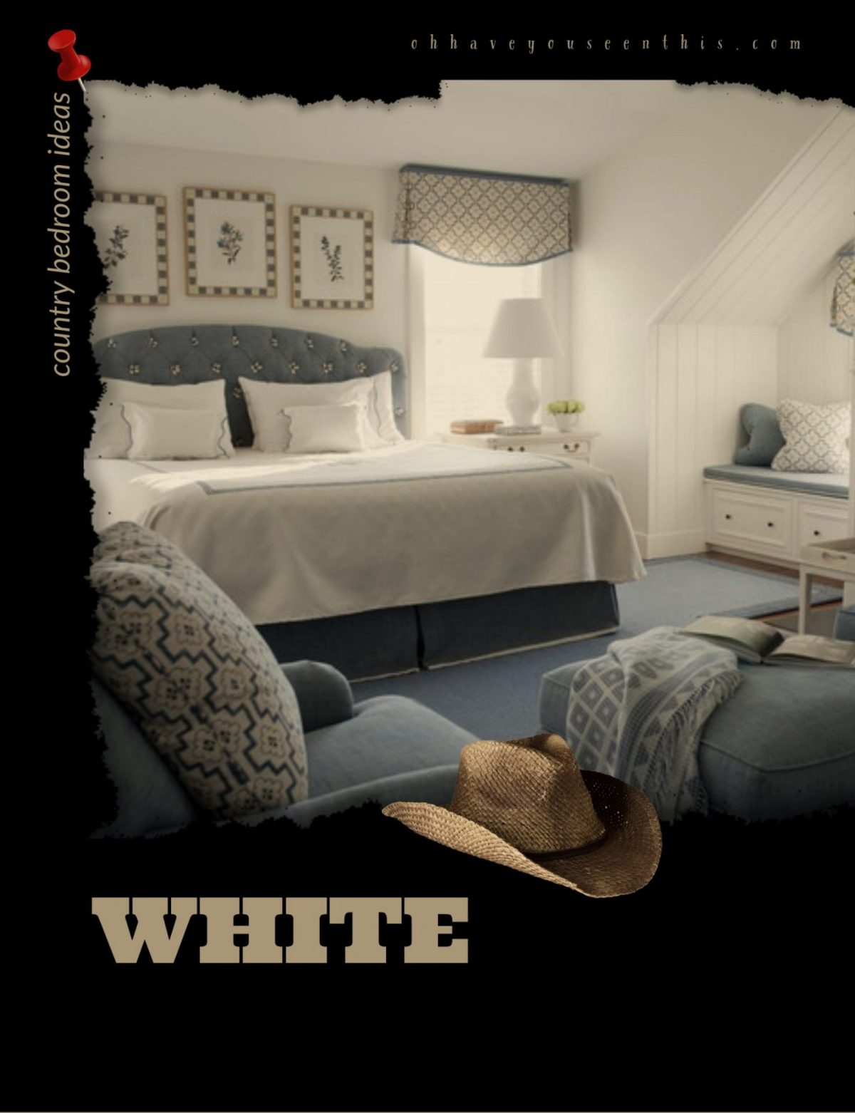 Best Color for Country Style Bedroom