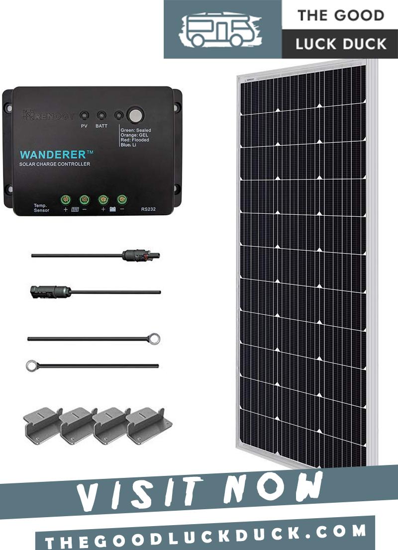 how many solar panels do i need for my rv