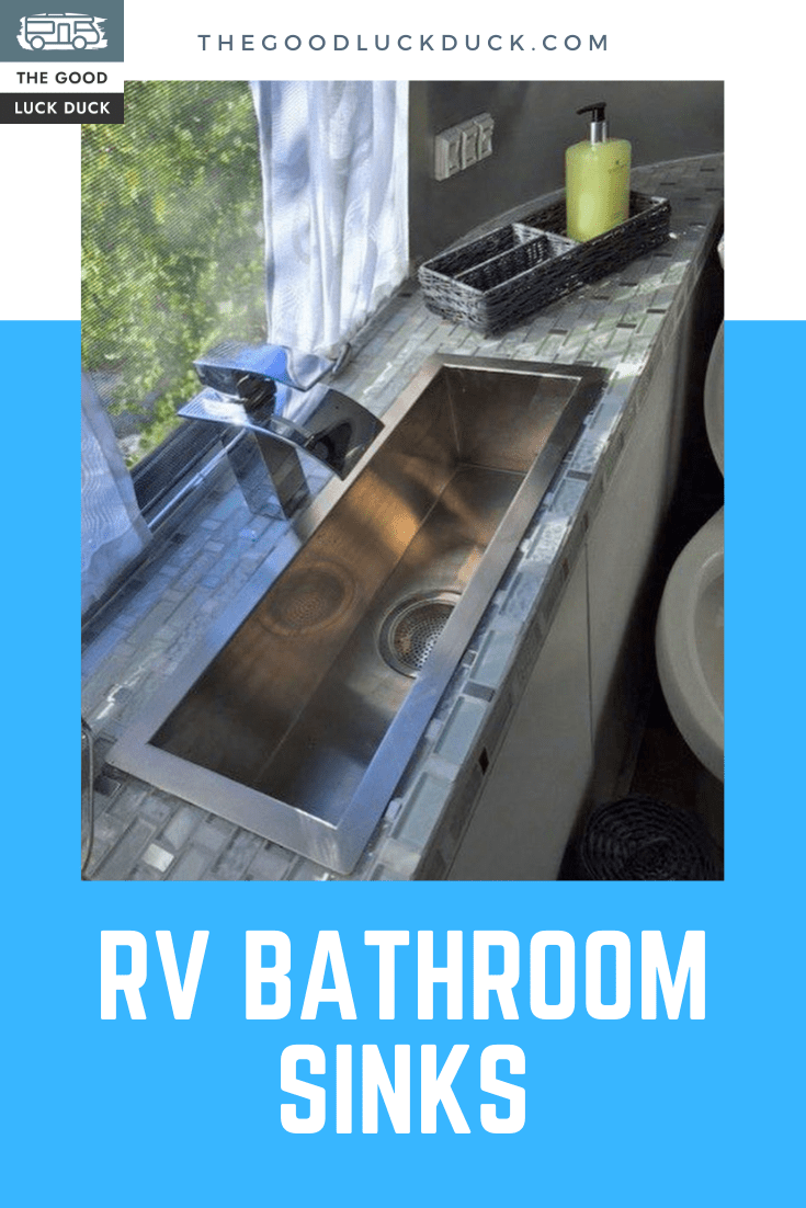 motorhome bathroom sink