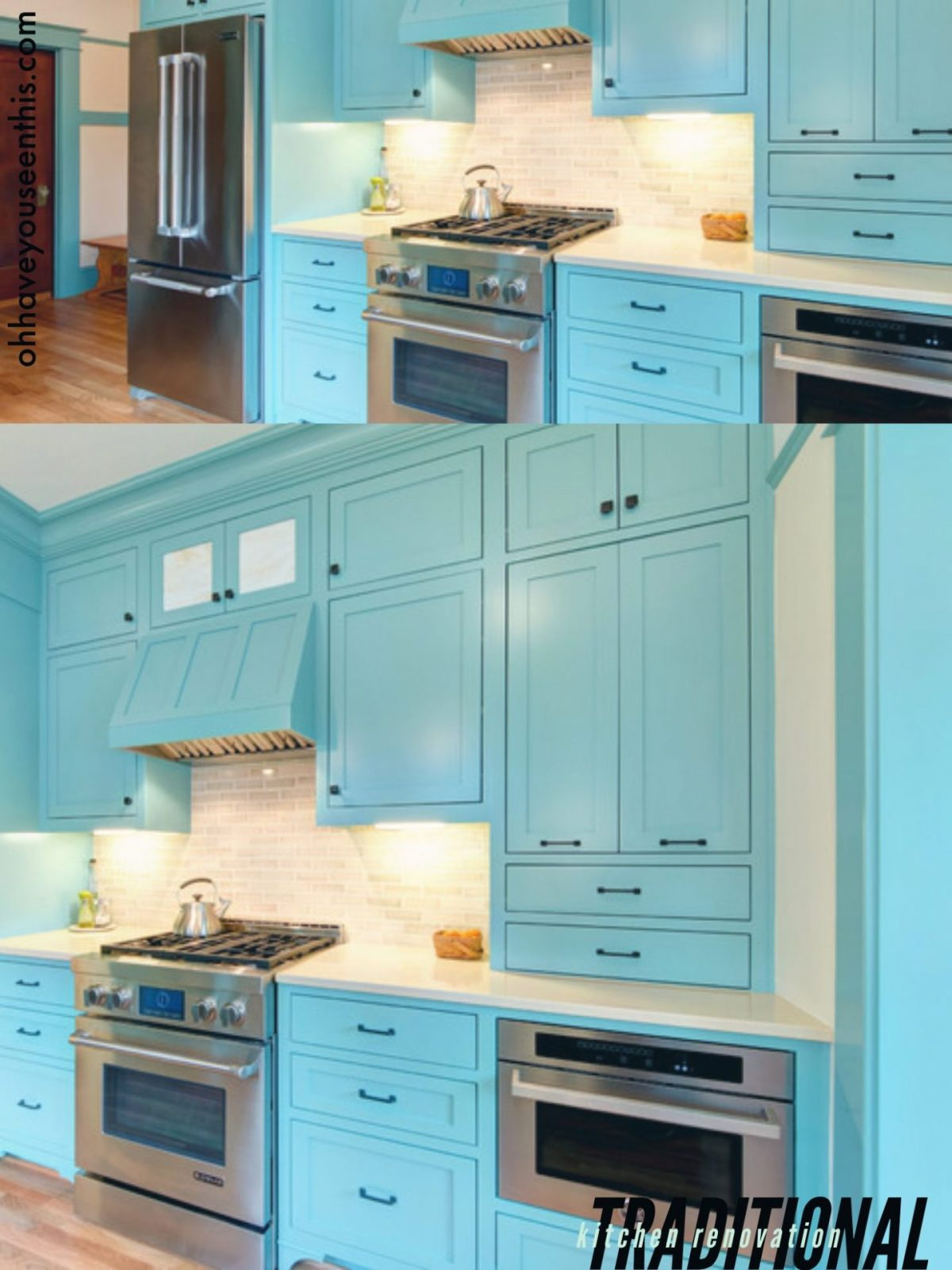 Turquoise Kitchen Ideas