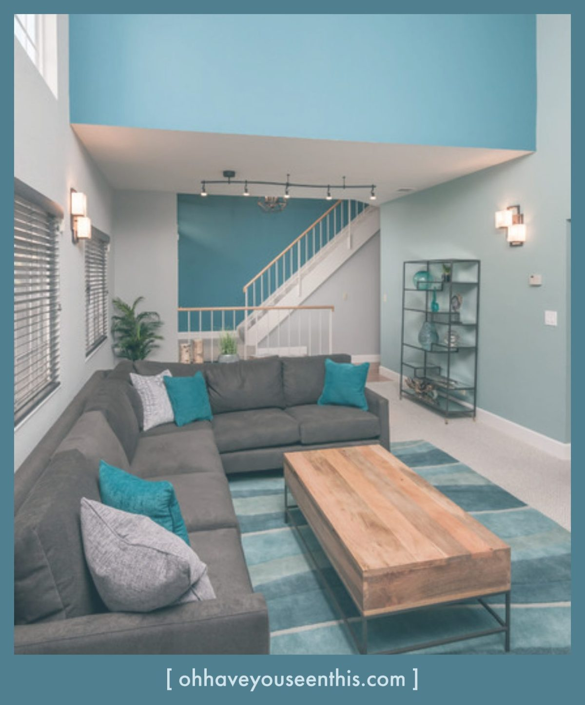 Turquoise Living Room Ideas