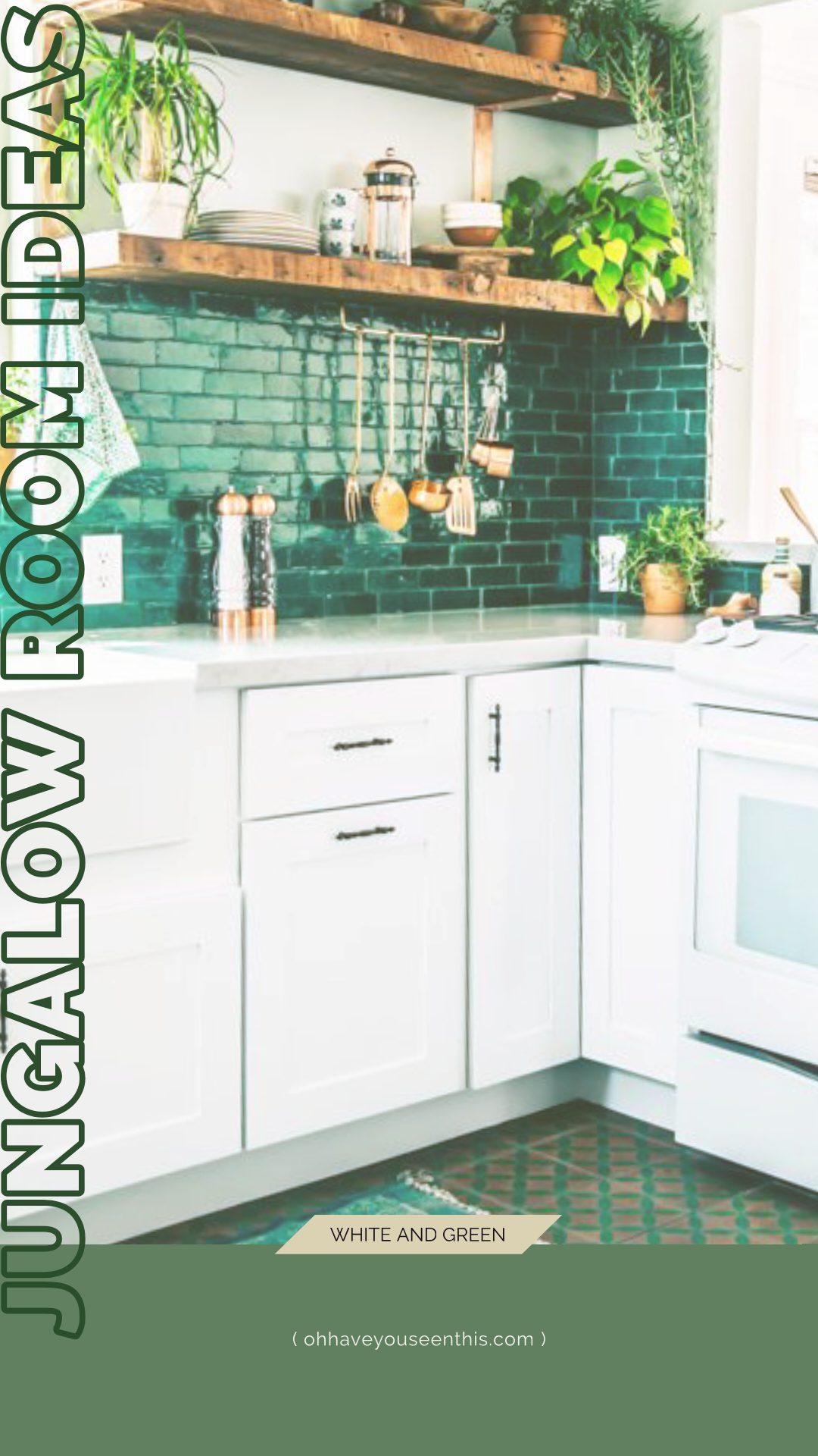 Jungalow Kitchen Ideas