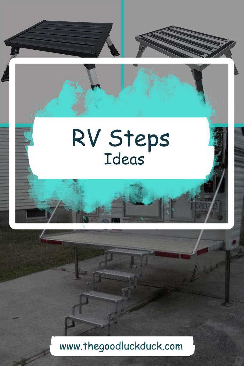 diy camper steps