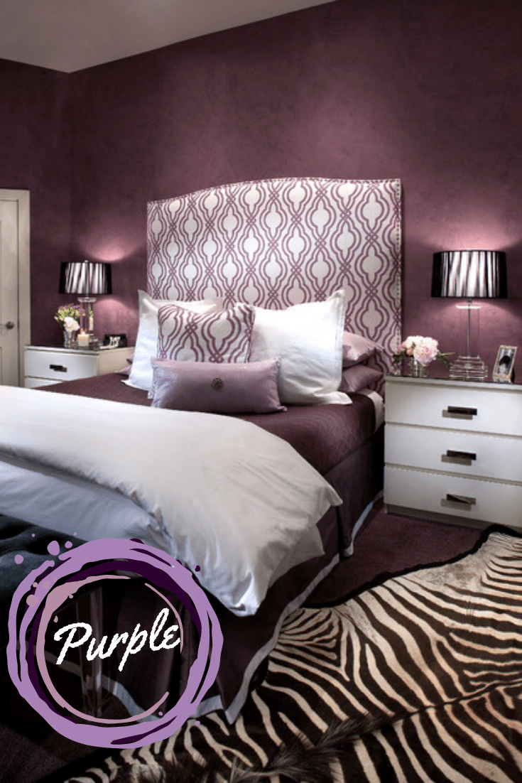 The best color for your romantic bedroom