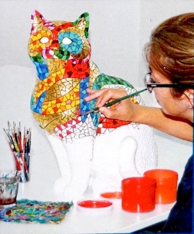 Barcino mosaic artist