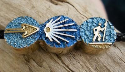 Camino Santiago jewellery symbols