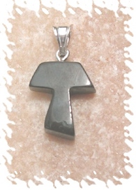 Tau cross symbolic necklace