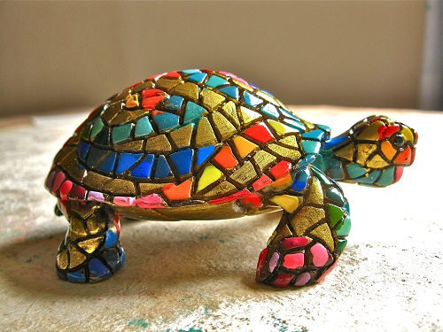 Tortoise turtle good luck symbol