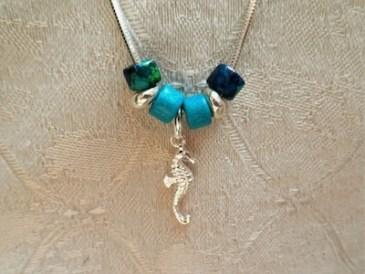Seahorse lucky travel charm
