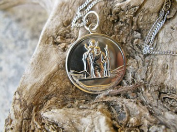 St Christopher for safekeeping