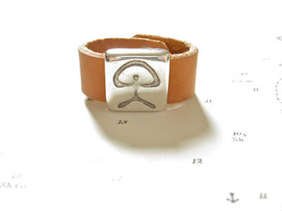 Indalo good luck symbol ring