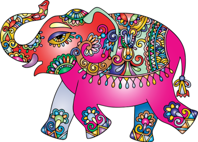 Elephant for wealth