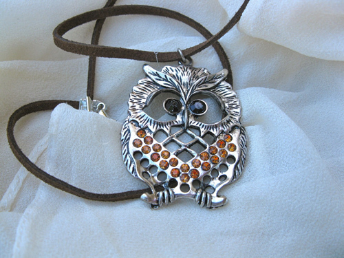 Lucky owl necklace