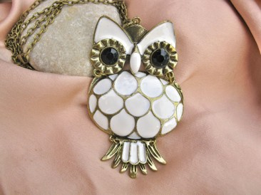 Owl charm can mean luck