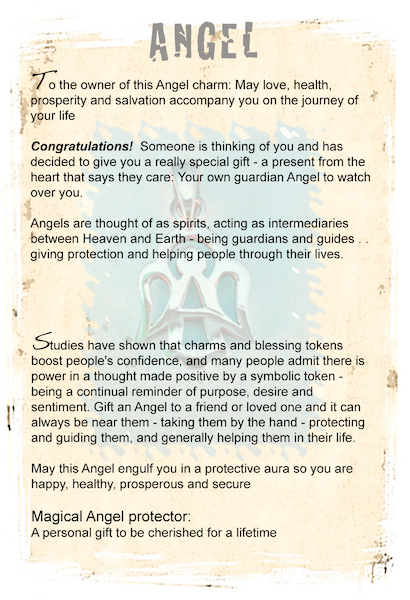 Guardian Angel gifts card