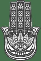 Protezione Hamsa simbolo di fede