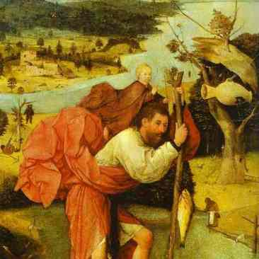 Representation of St Christopher_Bosch