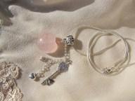 Rose Quartz Valentine necklace