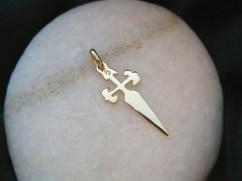 Cross on Camino de Santiago website