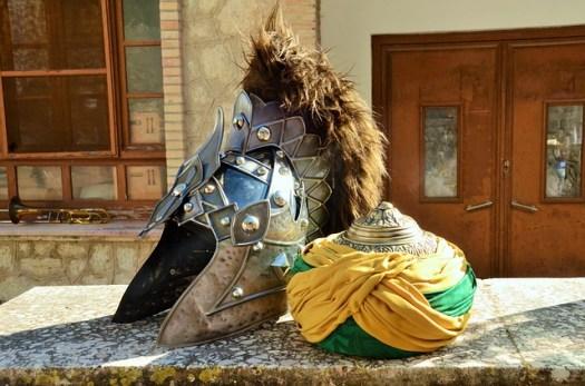 Abandoned Moorish costume