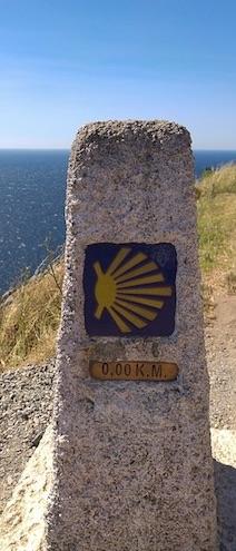 Camino de Santiago Way Marker