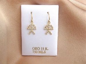 Lucky Indalo earrings for Retirement