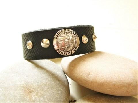 Saint Michael protection bracelet