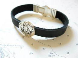 St Christopher lucky travel bracelet