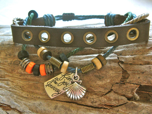 Camino bracelet for joy on the journey