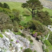 St Michaels Mount path Cornwall