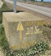 Route to Camino de Santiago