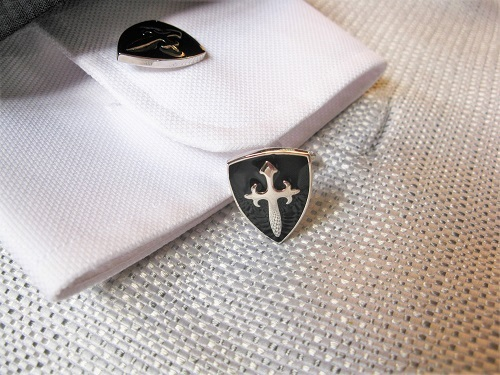 Keep Safe St James cufflinks