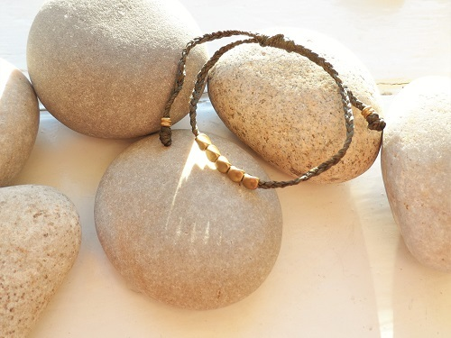 Health Band bracelet copper olive